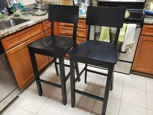 Wooden Bar Stool Chairs for Sale in Alexandria, VA