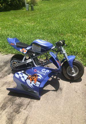 Razor Pocket Rocket 24V Mini Bike Electric Motorcycle for Sale in Bay Lake, FL