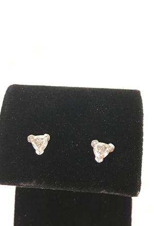Ladies diamond earrings for Sale in Denver, CO