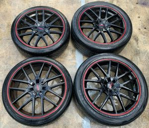 "TOUREN ADVANTA 20"" INCH WHEEL RIMS W/ TIRES (SET OF 4) 5x114.3 for Sale in Fort Lauderdale, FL"