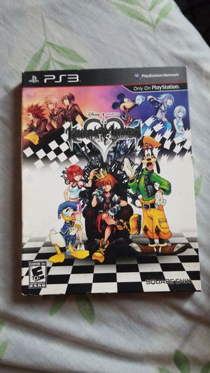 Kingdom Hearts HD 1.5 remix collectors edition for Sale in Queens, NY