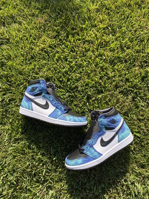 tie dye jordan 1 size 8.5 for Sale in Los Angeles, CA