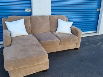Sectional Sofa L Shaped Couch Revirsable Chaise FREE DELIVERY $200 obo for Sale in Phoenix,  AZ
