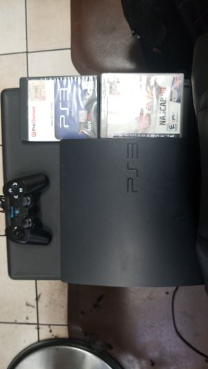 Ps3 remote & 2 games with cords for Sale in Stonecrest, GA