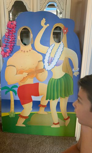 Hawaiian theme selfie cutout for Sale in Chico, CA