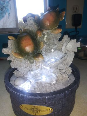 """12""""tall/8""""wide Light up water fountain for Sale in Fresno, CA"""