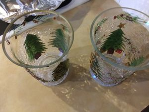 Glass Christmas decor for Sale in Puyallup, WA
