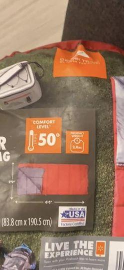 Ozark 50F Warm Weather Sleeping Bag for Sale in Seattle,  WA