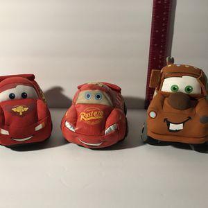 Disney Pixar Cars ( Plush Cars) for Sale in Aurora, IL