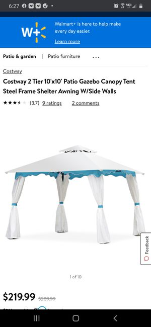 Party tent 10x10 linen cover for Sale in Pinon Hills, CA