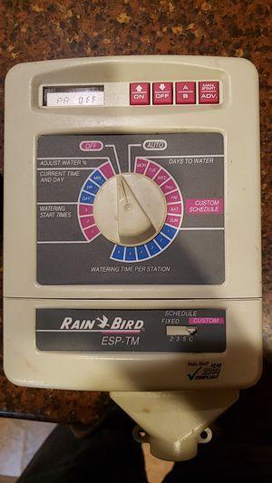 Rain bird lawn sprinkler timer for Sale in Laurel, MD