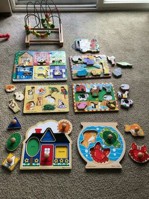 Wooden puzzles and toy 😊 for Sale in Everett, WA