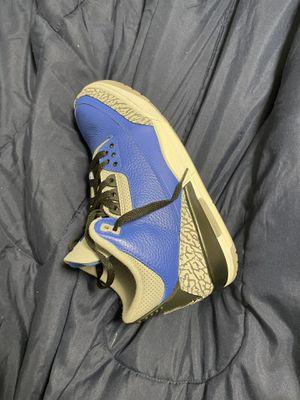 Air Jordan blue 3s for Sale in Baltimore, MD