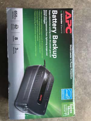 APC battery backup new for Sale in BETHEL, WA