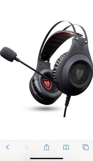 Gaming Headset for Xbox One, PS4, PC, Controller, NUBWO Wired Gaming Headphones with Microphone for Sale in Chicago, IL