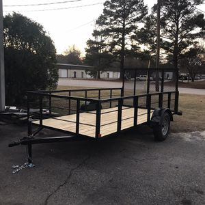 6x12 HIGH SIDES UTILITY TRAILER for Sale in Gadsden, SC