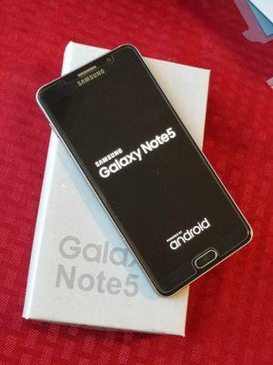 Samsung Galaxy Note 5, Factory Unlocked for Sale in Springfield, VA