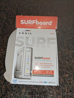 Arris Surfboard Cable Modem for Sale in Pasadena, MD