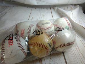 6 youth ball baseball cushy tball t-ball batting for Sale in Arlington, MA