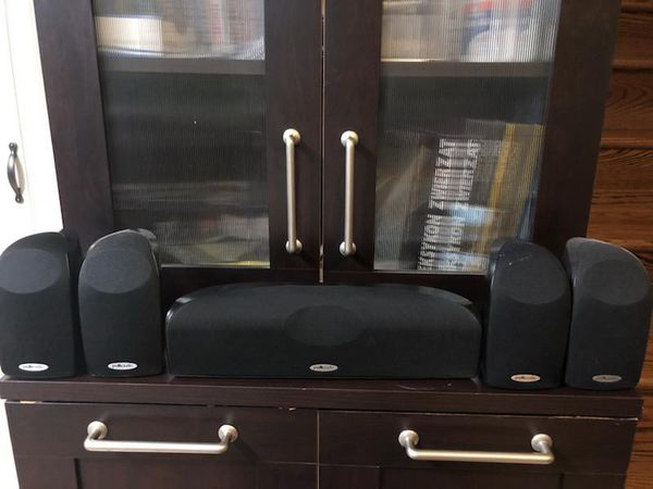 Polk Audio TL1600 Home Theater Speakers with Subwoofer