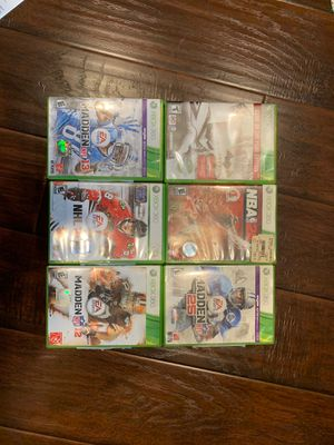 Bunch of Xbox 360 games for Sale in Burbank, CA