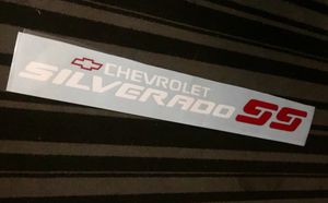 "Chevrolet SILVERADO SS Windshield Banner Vinyl Sticker (42"" in Length) $35 for Sale in Upland, CA"