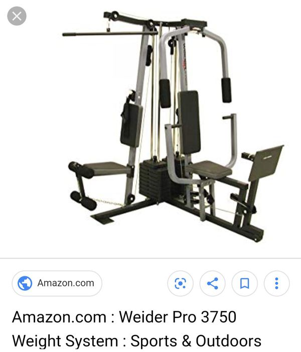 Weider 3750 Home Gym