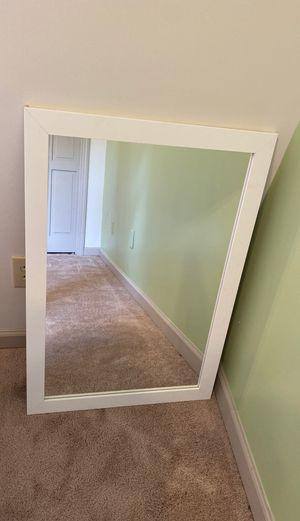 White Wall Mirror for Sale in Atlanta, GA