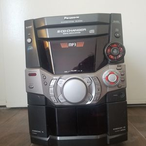 Panasonic 5 CD Stereo System, Excellent Condition for Sale in San Diego, CA