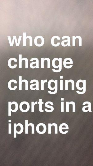 i need my charging port changed who can change it for Sale in Charlotte, NC
