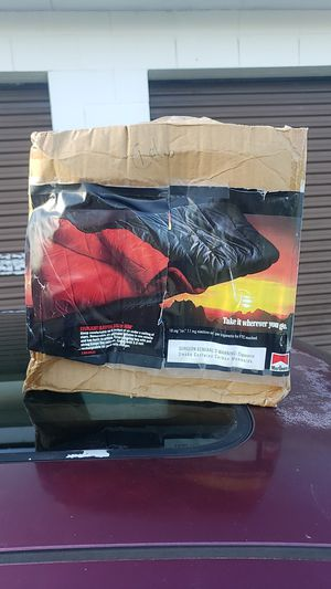 Inflated sleeping bag marlboro for Sale in Sheridan, IN