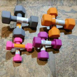 New Dumbbell Set 10lb 8lb 5lb 3lb Total 52 for Sale in Tacoma,  WA