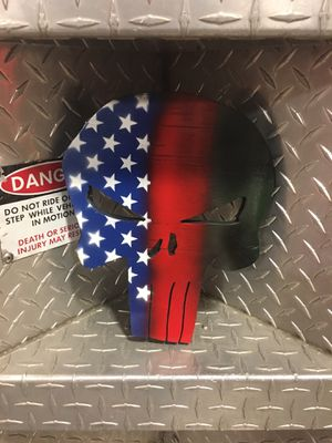 Punisher wall decoration for Sale in Grayslake, IL