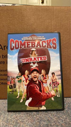 Comebacks DVD for Sale in West Orange, NJ