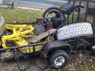 Lawn Mower And Trailer for Sale in Columbus,  OH