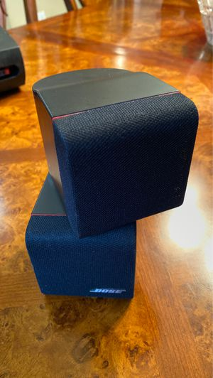 Bose cube surround sound speakers ( pair ) great condition for Sale in Spring Hill, FL