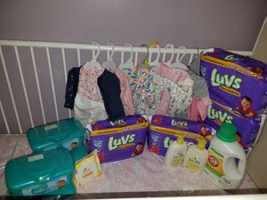 Baby Girl Starter Kit for Sale in Bowie, MD