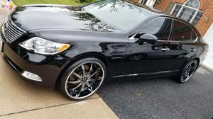 Lexus 08 LS460L with 166,000 miles new rims and tires 11,000 for Sale in Annapolis, MD