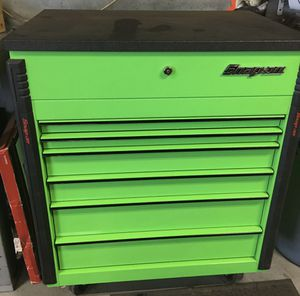snap on tool cart extreme green with rhino top krsc246bkg7 for Sale in Lowell, MA