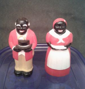 Aunt Jemima and Uncle Mose salt & pepper shakers for Sale in Montesano, WA