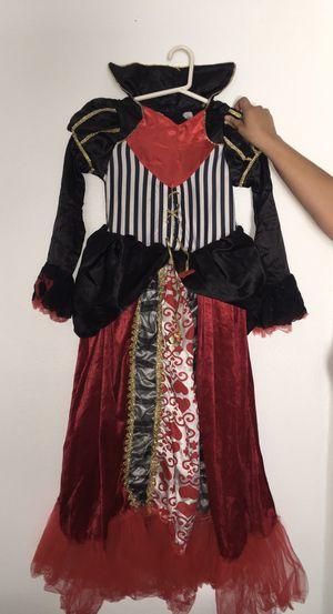 Queen of Hearts kid Halloween Costume for Sale in Orlando, FL