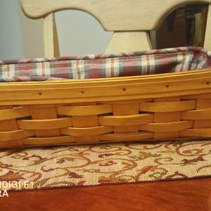 Longaberger Basket Handwoven for Sale in San Bernardino, CA