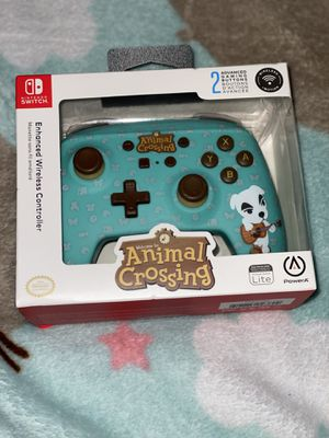 Animal Crossing Switch Controller for Sale in Chantilly, VA