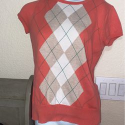orange shirt with Checkered for Sale in Phoenix,  AZ