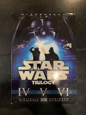 Star Wars Trilogy DVD for Sale in Chino, CA