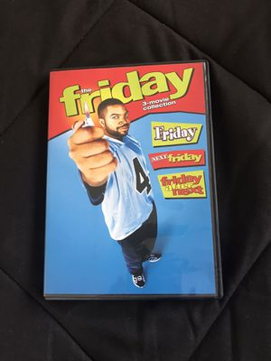 The Friday 3 movie collection on DVD for Sale in Fairfield, CA