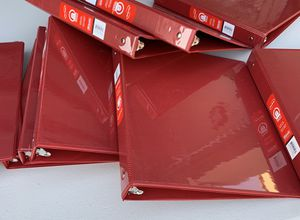 Brand New 1 Inch Binders for Sale in Beaumont, CA