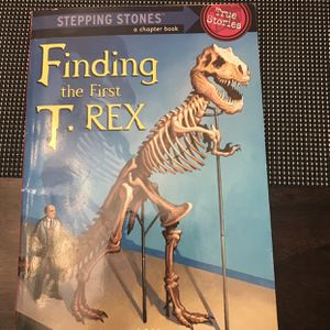 Kids Chapter Book Finding The 1st T Rex Stepping Stones for Sale in Atwater, CA
