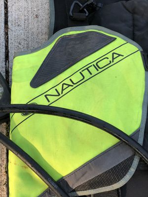 Nautica BC diving vests, regulator, fins, dry suit for Sale in Saint Clair Shores, MI