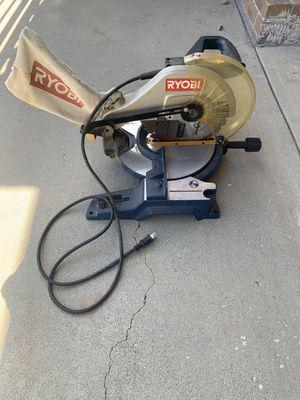 Ryobi Power 10in Miter Saw w/bevel for Sale in Covina, CA